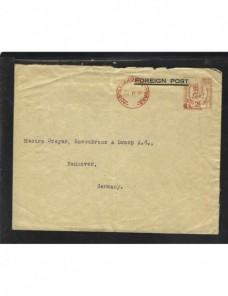 Carta Gran Bretaña franqueo mecánico Gran Bretaña - 1931 a 1950.