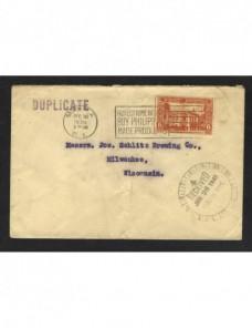Carta Filipinas Colonias y posesiones - 1931 a 1950.