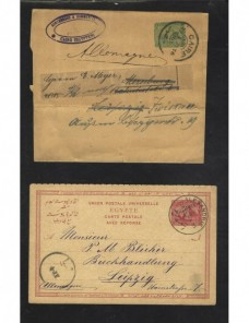 Tarjeta entero postal Laos nueva Otros Mundial - 1900 a 1930.