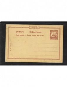 Tarjeta entero postal Islas Marianas alemanas Alemania - 1900 a 1930.