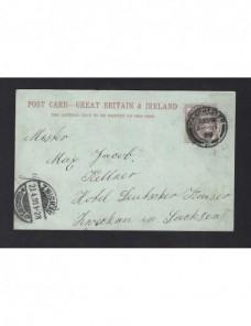 Tarjeta postal ilustrada Gran Bretaña Gran Bretaña - Siglo XIX.