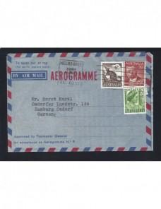 Aerograma Australia matasellos de rodillo especial Otros Mundial - Desde 1950.