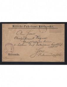 Carta correo oficial militar Alemania I Guerra Mundial  Imperios Centrales - I Guerra Mundial.