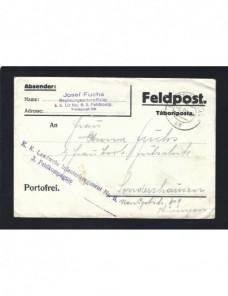 Carta correo de campaña Austria Hungría I Guerra Mundial Imperios Centrales - I Guerra Mundial.