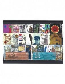 Lote de sellos Gran Bretaña usados años 90 Gran Bretaña - Desde 1950.