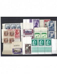 Lote de sellos Marruecos español nuevos bordes de hoja Colonias y posesiones - 1931 a 1950.