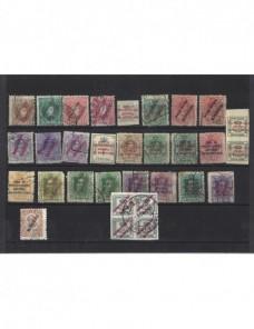 Lote de sellos Marruecos español Alfonso XIII Colonias y posesiones - 1900 a 1930.