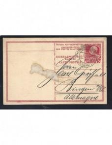 Tarjeta entero postal levante Imperio Austrohúngaro Constantinopla Colonias y posesiones - 1900 a 1930.