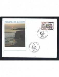 Tres piezas postales Francia matasellos especiales Francia - Desde 1950.