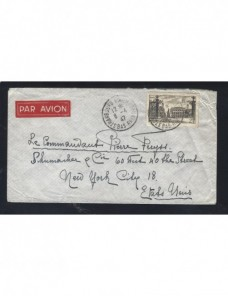 Carta Francia correo aéreo Francia - 1931 a 1950.