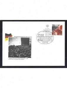 Lote temático. Tema política. Sobre entero postal Alemania nuevo Entero Postales.