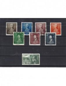 Conjunto de ocho sellos España Fernando e Isabel España - Desde 1950.