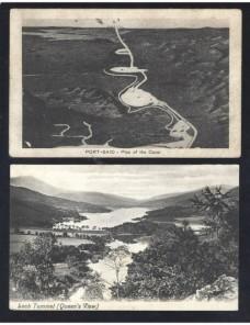 Cuatro tarjetas postales ilustradas mundial nuevas Otros Mundial - Desde 1950.