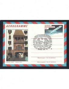 Lote temático. Tema monumentos. Aerograma Austria Entero Postales.