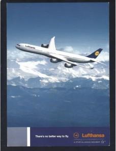 Lote de cinco tarjetas postales ilustradas Alemania Lufthansa Alemania - Desde 1950.
