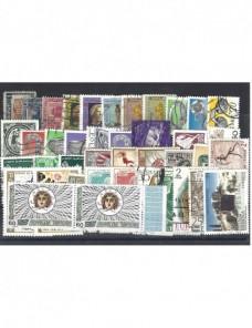 Lote temático. Tema arqueología. 41 sellos de varios países en usado Sellos.