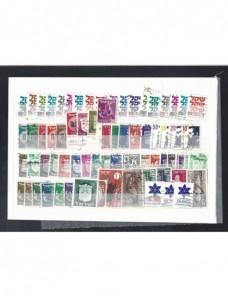 Lote de 71 sellos de Israel series básicas. Otros Mundial - Desde 1950.