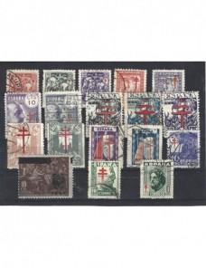 Lote de sellos protuberculosos España España - 1931 a 1950.