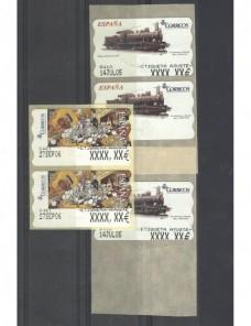 Sellos valor varible de España impresión de ajuste España - Desde 1950.