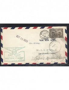 Carta correo aéreo Canadá primer vuelo Otros Mundial - 1900 a 1930.
