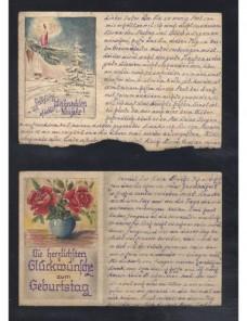 Tres tarjetas prisioneros de II Guerra Mundial URSS censura Prisioneros de guerra - II Guerra Mundial.