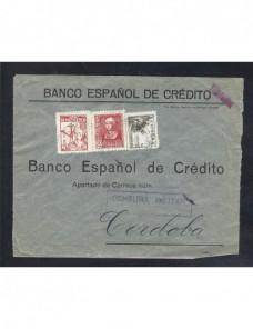 Carta Villaviciosa Guerra Civil Española censura militar Zona Nacional - Guerra Civil Española.