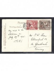 Tarjeta postal ilustrada Gran Bretaña Jorge V Gran Bretaña - 1900 a 1930.