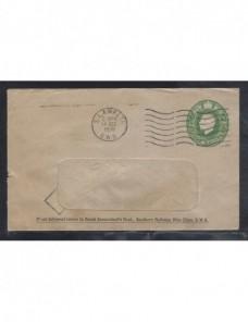 Sobre entero postal comercial Gran Bretaña Jorge V Gran Bretaña - 1931 a 1950.