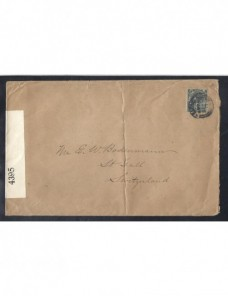 Carta Gran Bretaña censura I Guerra Mundial Bando Aliado - I Guerra Mundial.