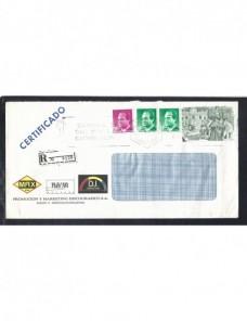 Carta correo aéreo y certificado España España - Desde 1950.
