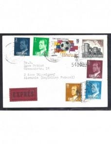 Carta correo urgente España España - Desde 1950.