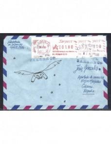Carta aérea Perú etiquetas postales Otros Mundial - Desde 1950.
