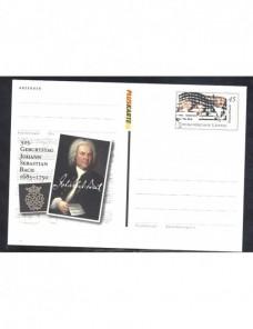 Lote temático. Tema musica. Tarjeta entero postal Alemania Entero Postales.