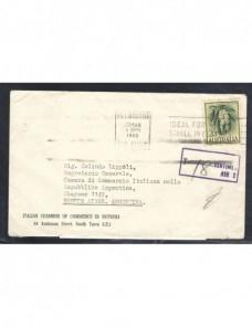 Carta Australia marca de tasas Otros Mundial - Desde 1950.