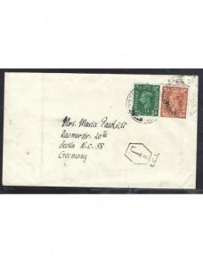Carta Gran Bretaña marca de tasa  Gran Bretaña - 1931 a 1950.