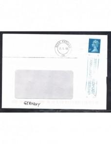 Carta correo militar Gran Bretaña marca tarifa reducida Gran Bretaña - Desde 1950.