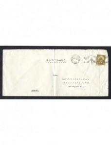 Dos cartas correo marítimo Estados Unidos EEUU - 1931 a 1950.
