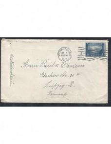 Carta Estados Unidos correo marítimo EEUU - 1900 a 1930.