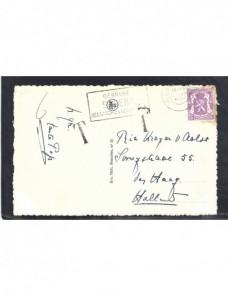 Tarjeta postal Bélgica marca de tasa Otros Europa - 1931 a 1950.