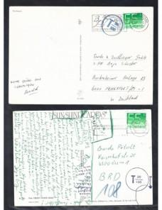 Cinco tarjetas postales Holanda marcas de tasa Otros Europa - Desde 1950.