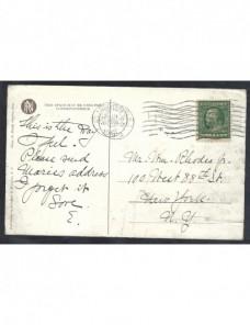 Tarjeta postal Estados Unidos EEUU - 1900 a 1930.