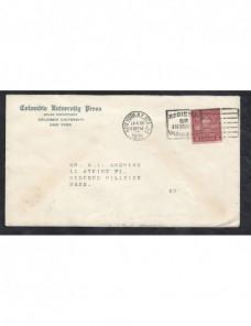 Carta Estados Unidos matasellos de rodillo especial  EEUU - 1900 a 1930.