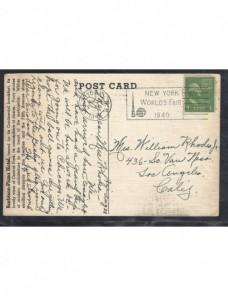 Tarjeta postal Estados Unidos EEUU - 1931 a 1950.