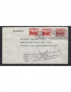Carta aérea Estados Unidos marca de devolución  EEUU - 1931 a 1950.