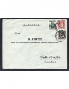 Carta comercial España II República España - 1931 a 1950.