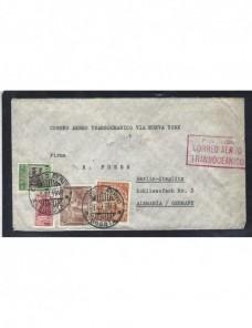 Carta aérea Colombia correo aéreo mancomún y censura militar  Otros Mundial - 1931 a 1950.