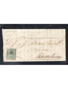 Carta España Tortosa I República España - Siglo XIX.