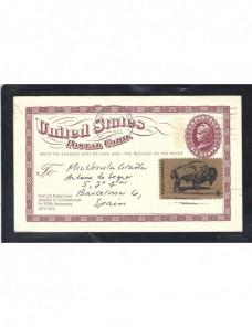Tarjeta entero postal Estados Unidos EEUU - Desde 1950.