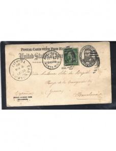 Lote temático. Tema etnografía. Tarjeta entero postal Estados Unidos Entero Postales.