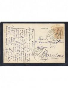 Tarjeta postal ilustrada Marruecos español Tánger Colonias y posesiones - 1900 a 1930.